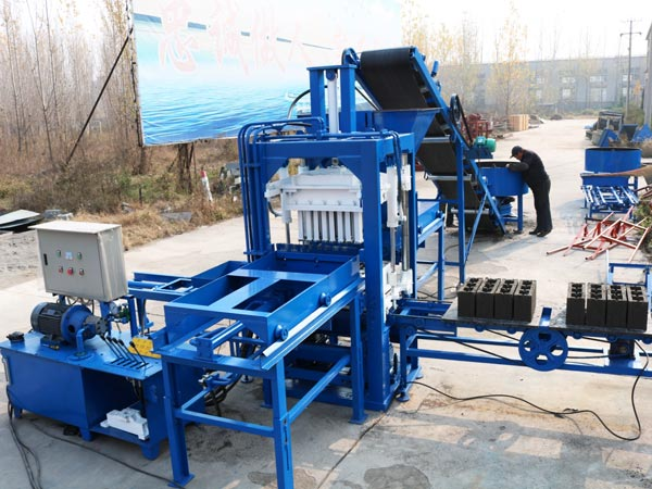 ABM-3S hollow bricks maker
