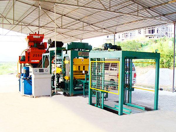 QT6-15 ash brick manufacturing machine