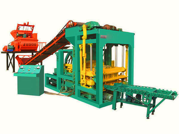QT6-15 ash bricks machine