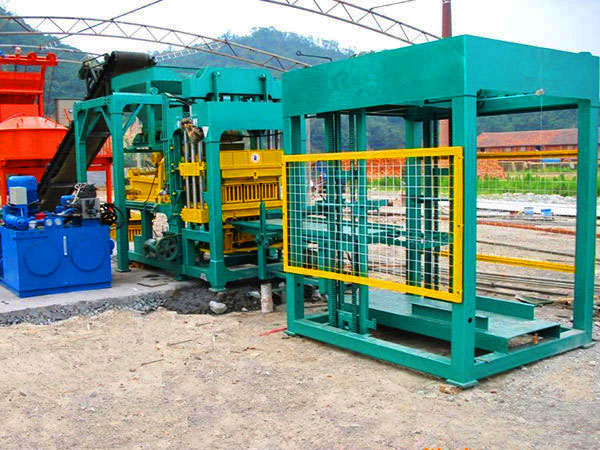 QT8-15 fly ash brick manufacturing machine