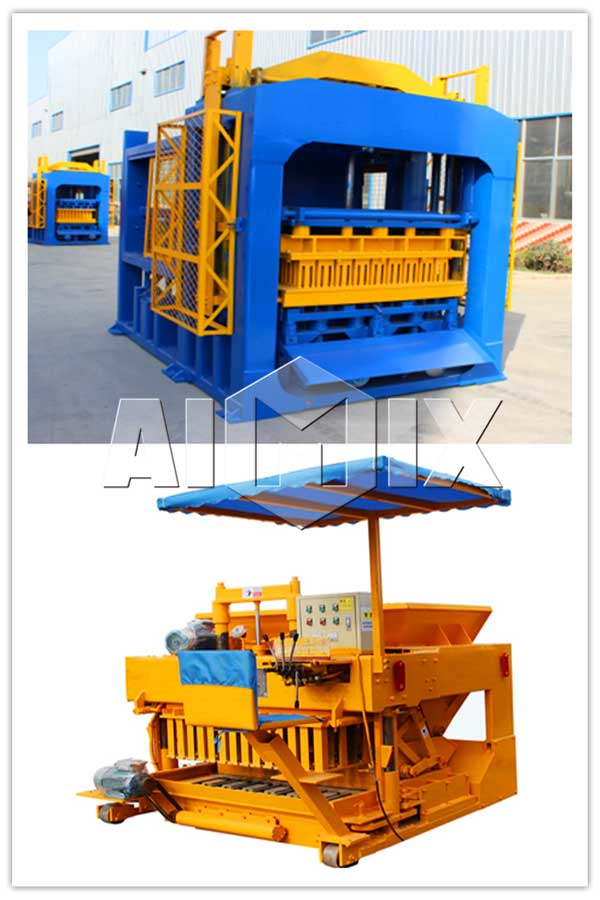 stationary and mobile fly ash bricks machine