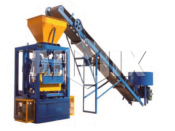 QT 4-25 concrete block making machine manufacturers