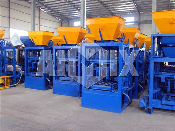 body of automatic cement block machine