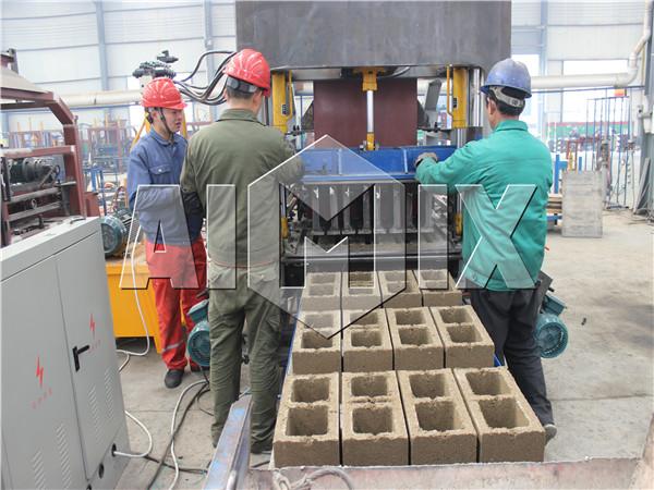 automatic bricks machine make blocks