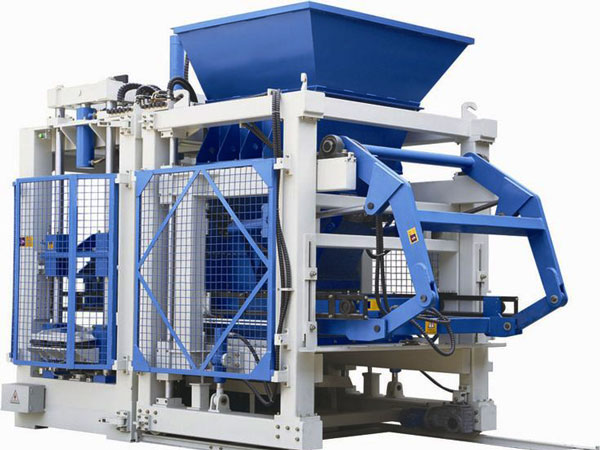 QT10-15 cement bricks machine