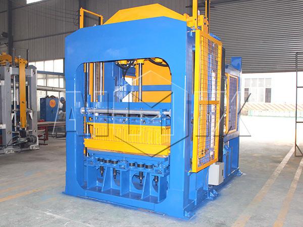 Машина для производства кирпичей из золы-уноса ABM-10S