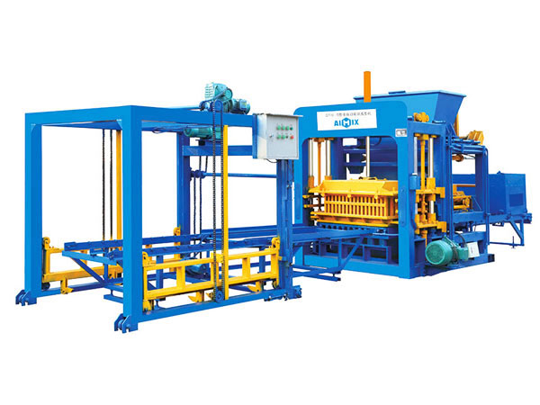 ABM-10S fully automatic cement brick machine