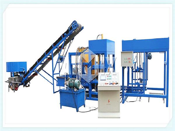 QT12-15 semi automatic hollow block machine