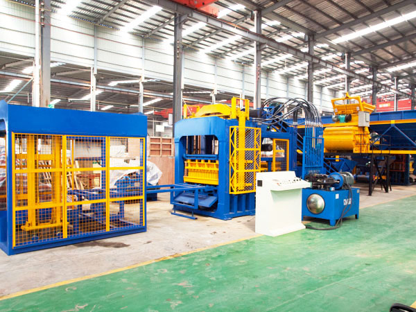 ABM-12S fully automatic cement brick manufacturing machine