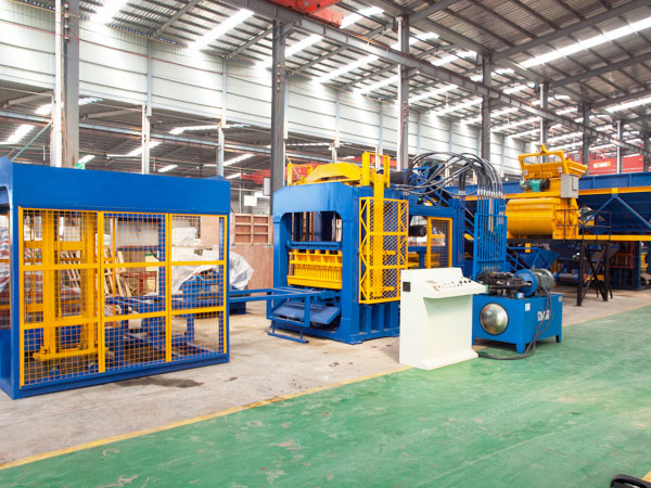 ABM-12S fully automatic fly ash bricks machine
