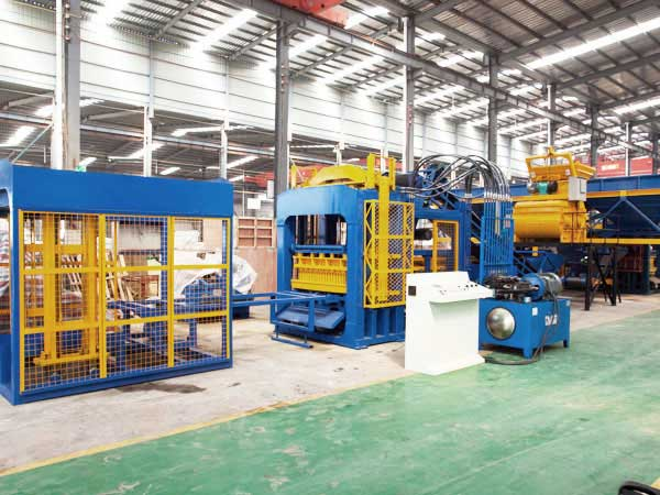 ABM-12S semi automatic ash brick machine