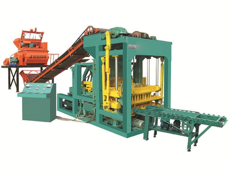 QT3-15 interlocking block machine