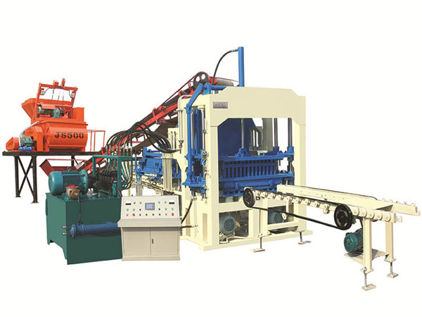 ABM-4S concrete block brick machine