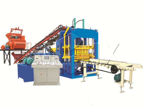 QT4-15 concrete brick making machine