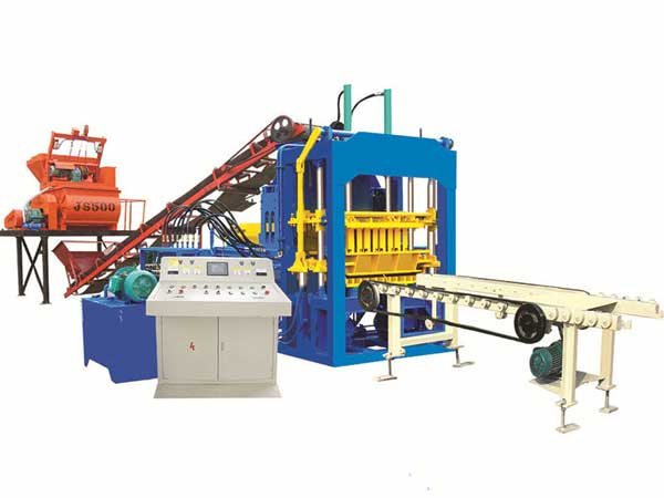 ABM-4S semi automatic fly ash brick machine