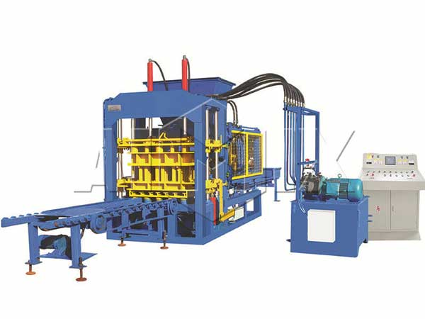 QT4-25 brick and block making machine