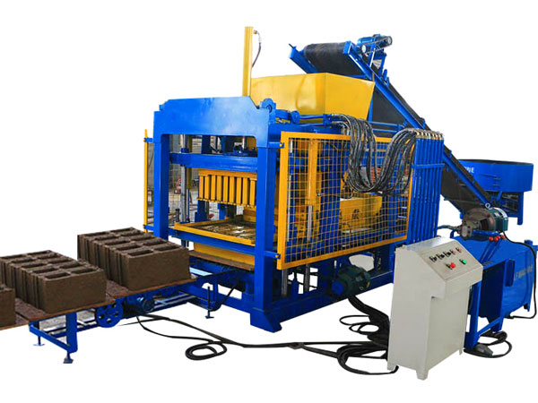 QT4-25 cement block manufacturing machine