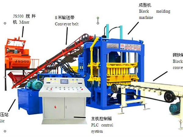 ABM-4SE cement bricks machine
