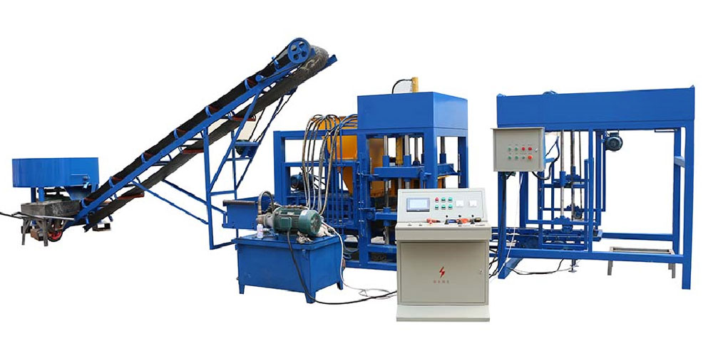 QT4-25 cement bricks manufacturing machine
