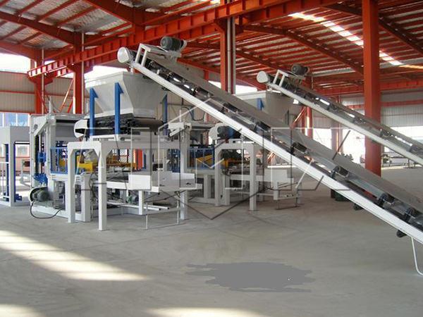 Машина для производства кирпичей из зольной пыли ABM-4SE