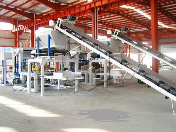 ABM-4SE fully automatic fly ash bricks machine