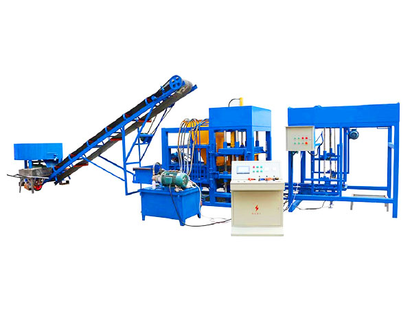 QT4-25 hydraulic press brick machine