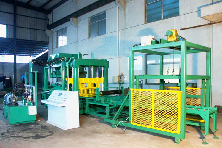 ABM-6S block molding machine