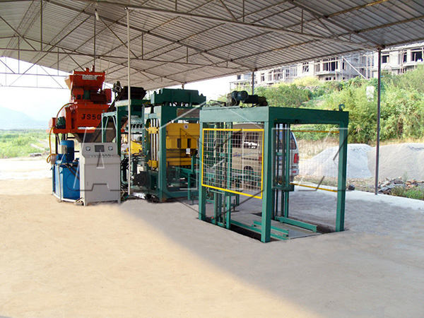 QT6-15 concrete block making machine for sale