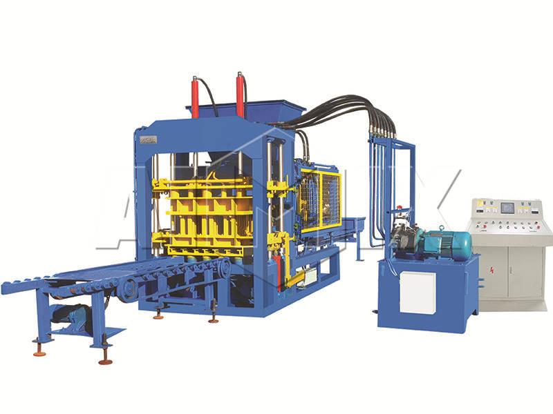QT6-15 concrete brick making machine
