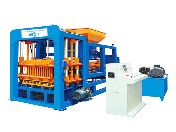 ABM-6S concrete bricks manufacturing machine