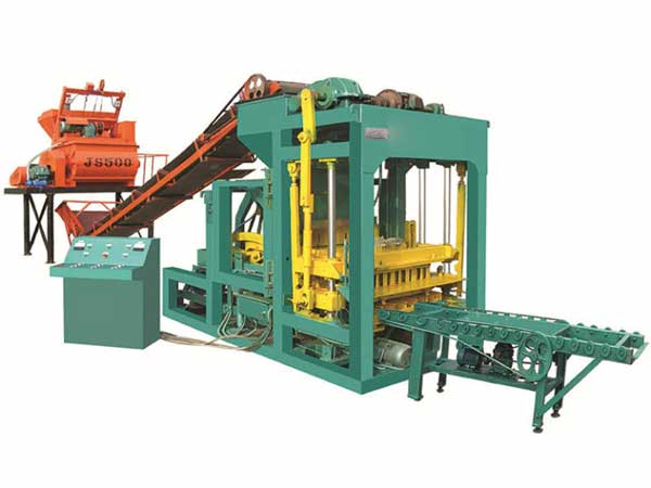 ABM-6S fully automatic fly ash bricks machine