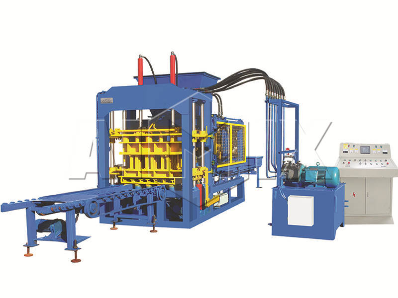 QT6-15 interlocking block making machine