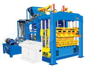 QT8-15 fly ash brick making machine