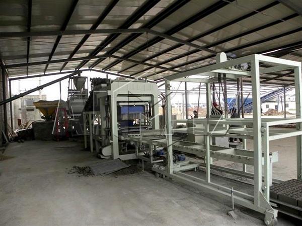 QT8-15 cement block making machine for sale