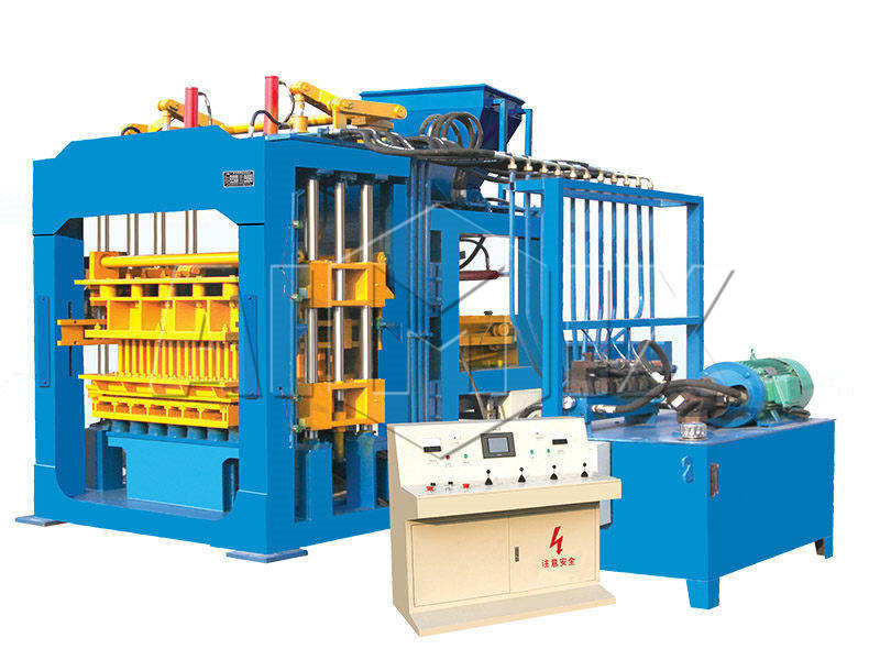 QT8-15 fully automatic fly ash brick making machine