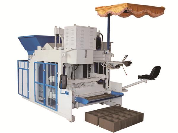 mobile cement brick making machine