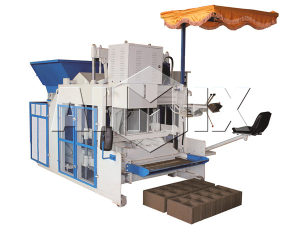 mobile concrete block machine manufacturer