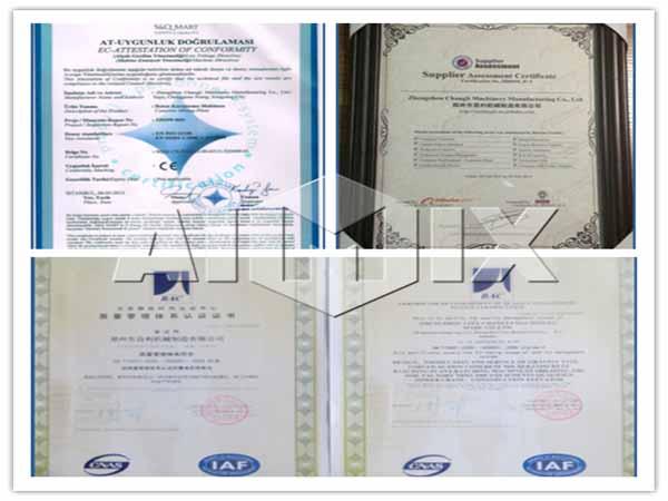 Aimix certificate