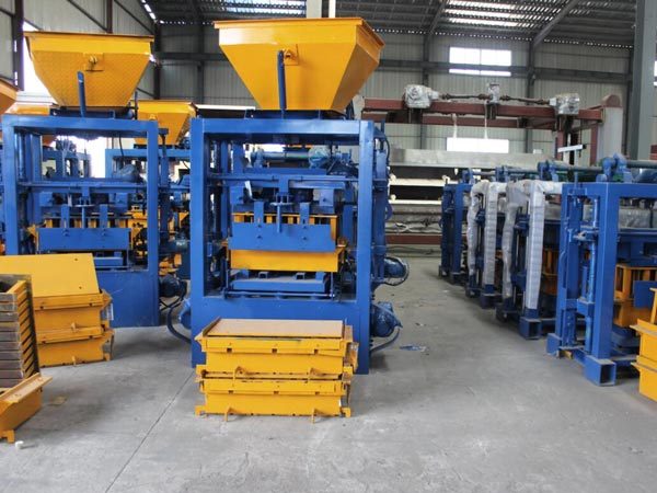 automatic hollow brick machine workshop