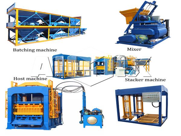 automatic hydraulic block machine