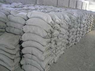 cement- raw material of bricks