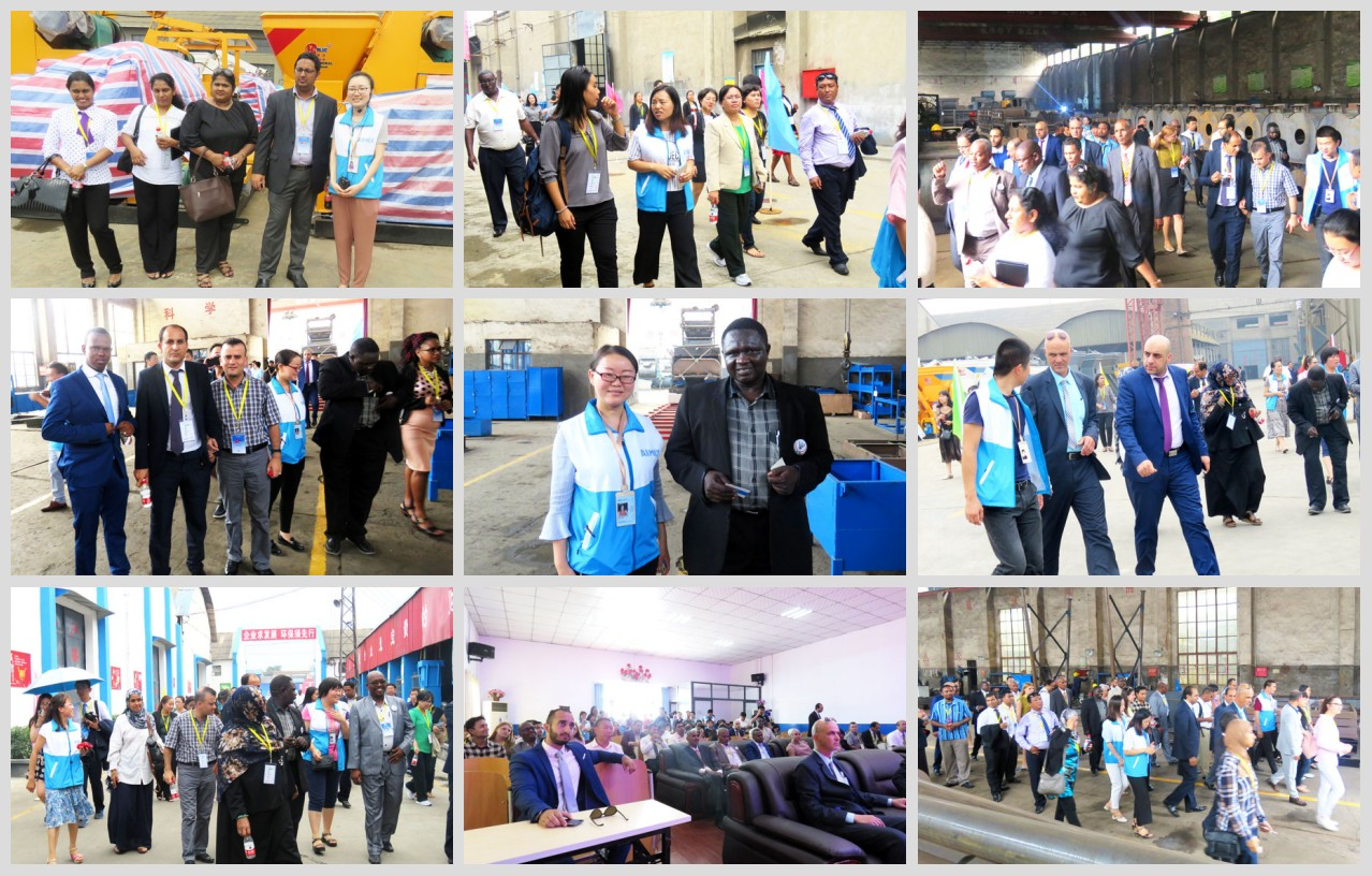 Customers from 54 countries paid a visit to our factory