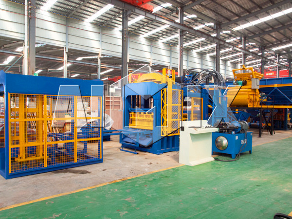 complete cement brick making machine unit