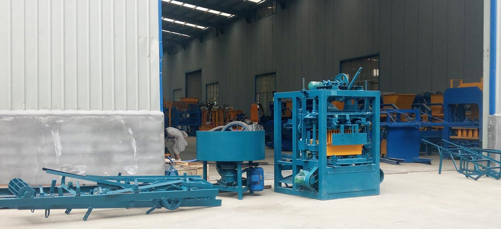 concrete hollow brick machine factory