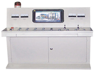 control system of brick machine