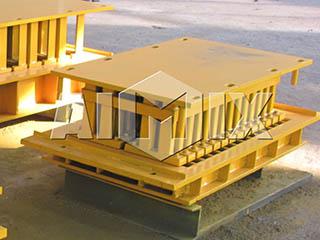distributor of block making machine