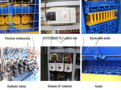 long service of Aimix block machine