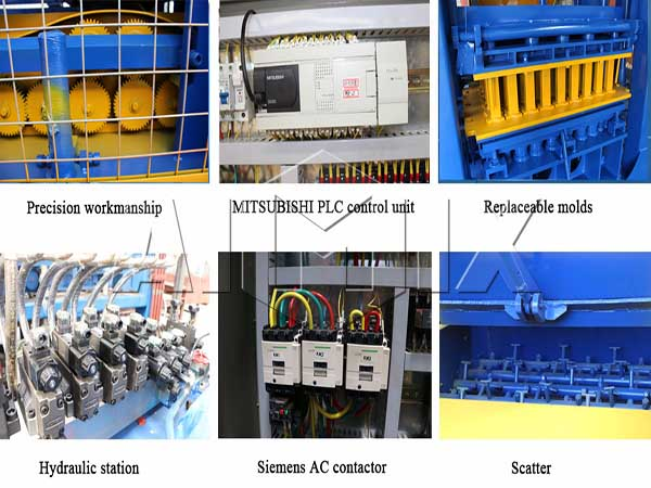 good quality of Aimix block machine