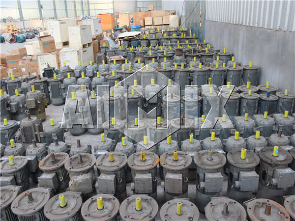 motor of automatic cement brick machine