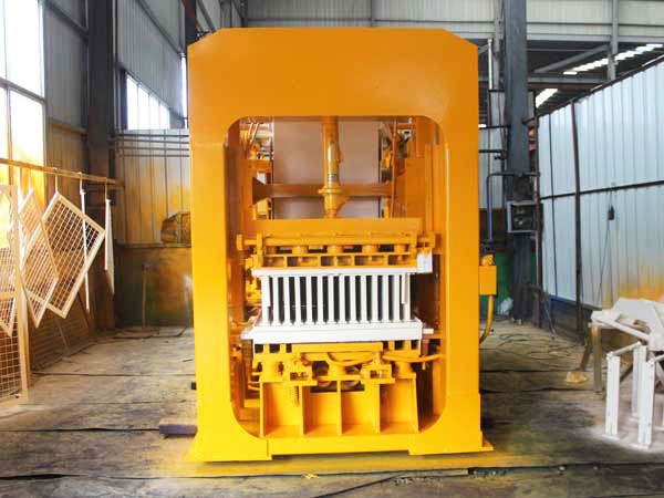 paint concrete brick machine